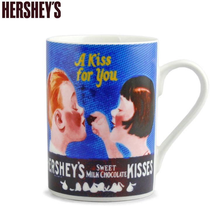 ハーシーズ マグカップ KISSING KID'S 354ml 12oz Hershey's 食器 キッチン雑貨 HER11004 アメリカ雑貨 アメリカン雑貨