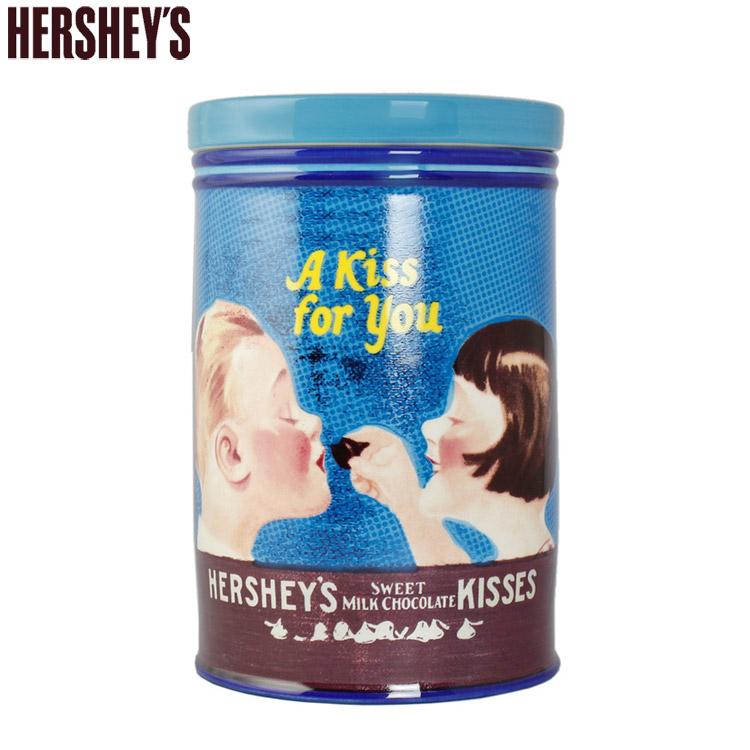 ハーシーズ キャニスター KISSING KID'S 高さ18×直径12cm Hershey's 保存容器 陶器製 キッチン雑貨 HER11021 アメリカ雑貨 アメリカン雑貨