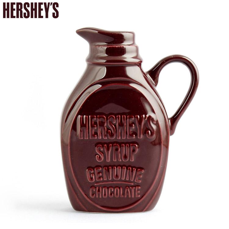 ハーシーズ シロップ&クリーマー 245ml Hershey's 詰め替え容器 シロップサーバー ミルク ジャグ 陶器製 キッチン HER12061 アメリカ雑貨 アメリカン雑貨