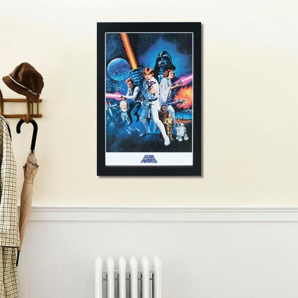 フレームアート スターウォーズ STARWARS No.212405 H48×W32.6cm 額縁付きアート 映画グッズ 壁面インテリア ポスター アメリカ雑貨