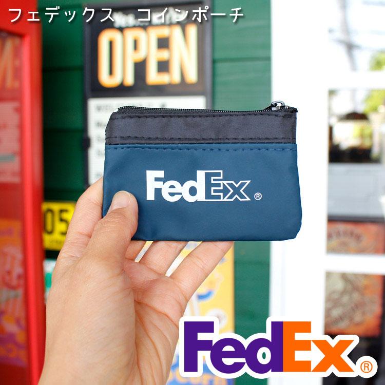 コインケース 小銭入れ フェデックス コインポーチ キーケース  FedEx アメリカ雑貨 アメリカン雑貨