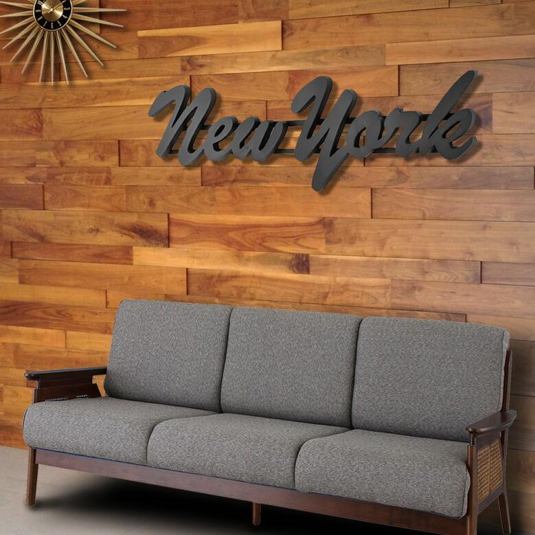 大型 オブジェ レタリングサイン 「NEW YORK」 158cm ニューヨーク  おしゃれ 看板 店舗用 西海岸インテリア アメリカ雑貨 アメリカン雑貨