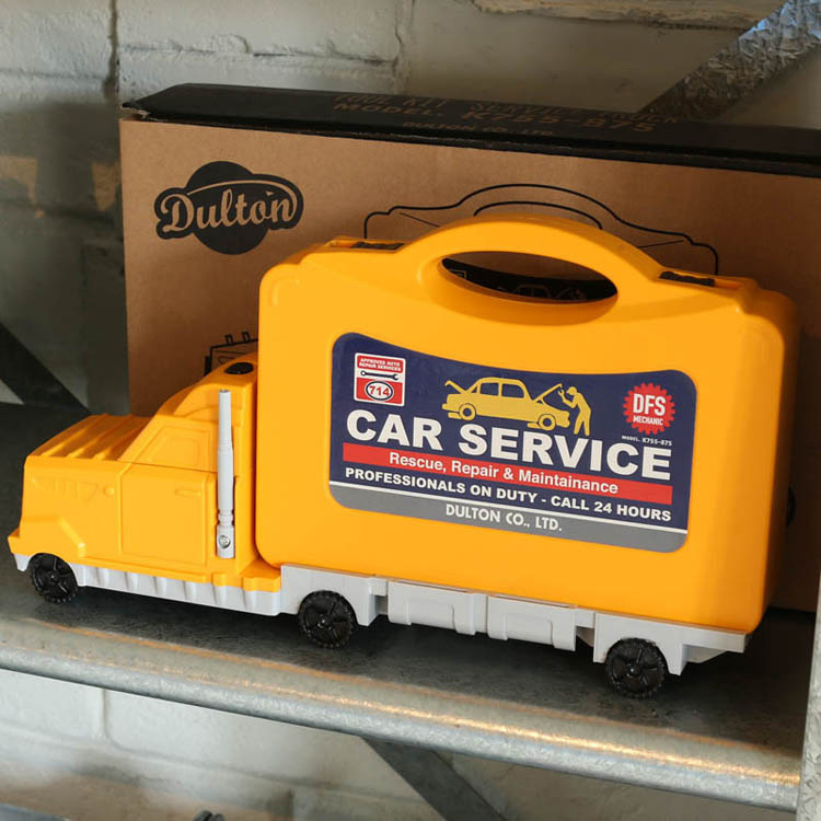 工具セット 家庭用 ダルトン ツールキット カーサービス K755-875 DULTON インテリア ギフト アメリカ雑貨 アメリカン雑貨