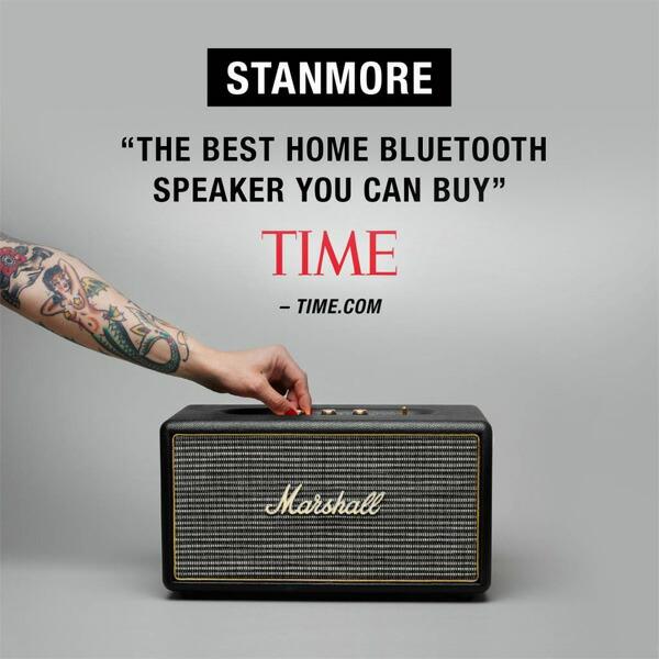 Marshallマーシャル Bluetooth対応スピーカー STANMOR スタンモア