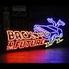 ネオンサイン 「BACK TO THE FUTURE バック トゥ ザ フューチャー」 ネオン管 アメリカ雑貨 アメリカン雑貨