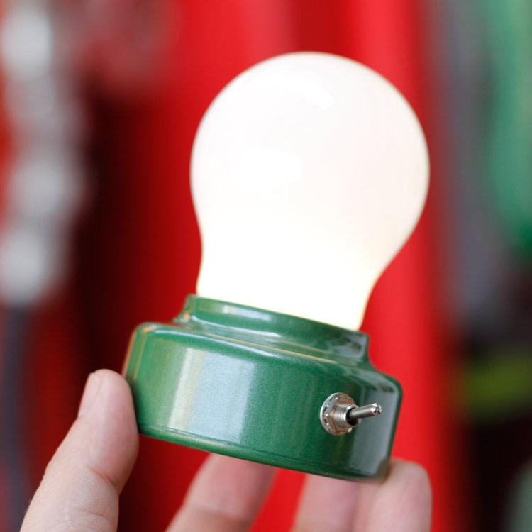 卓上ライト キッカーランド バルブライト LEDランプ 照明 インテリア KIKKERLAND アメリカ雑貨 アメリカン雑貨