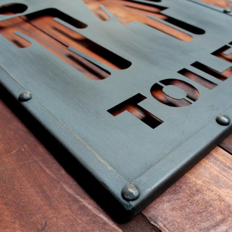 看板 トイレットサイン 「Male & Female」 HFT-331 縦31×横25.8×厚さ1cm パブリックサイン アメリカン雑貨