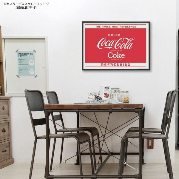 ポスター おしゃれ コカコーラ 「Sold Here」 PO-C30 COCA-COLA BRAND 72.8×51.5cm B2 インテリア アメリカ雑貨 アメリカン雑貨
