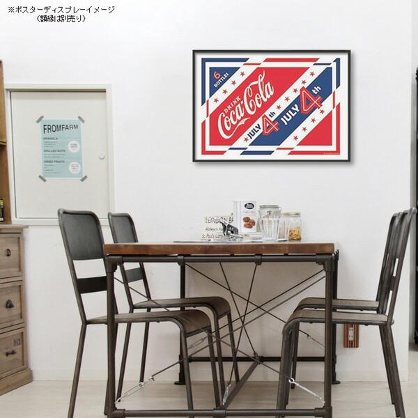 ポスター おしゃれ コカコーラ 「July 4th」 PO-C29 COCA-COLA BRAND 72.8×51.5cm B2 インテリア アメリカ雑貨 アメリカン雑貨