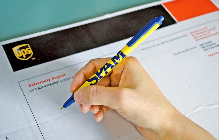 ボールペン SPAM スパム ロゴ 事務用品 筆記具 オフィシャルグッズ アメリカ雑貨 アメリカン雑貨