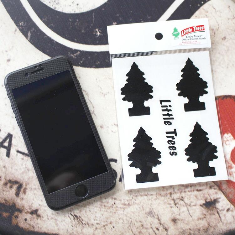 転写シール リトルツリー カットアウトステッカー SET-2 ブラック Little Trees 蒔絵シール アメリカ雑貨 アメリカン雑貨