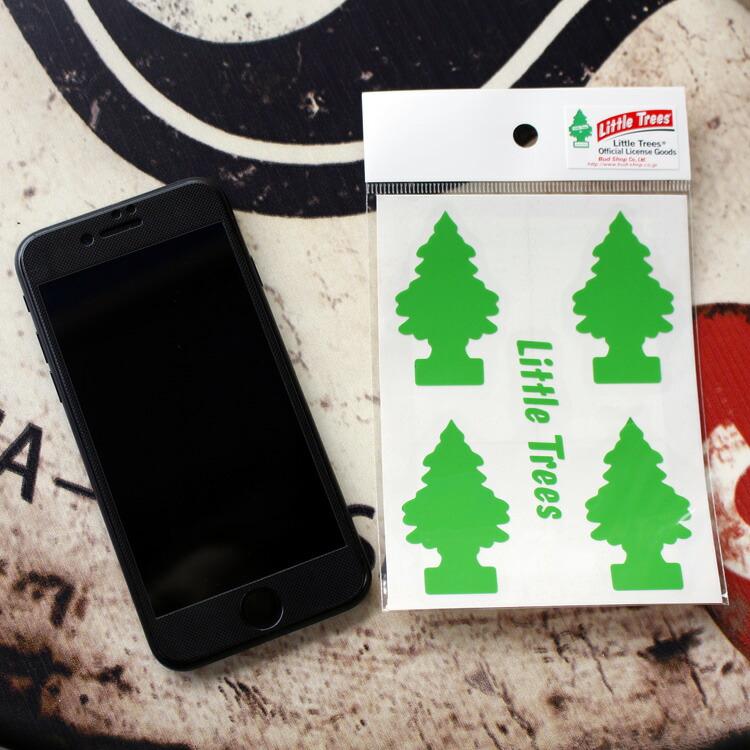 転写シール リトルツリー カットアウトステッカー SET-2 グリーン Little Trees 蒔絵シール アメリカ雑貨 アメリカン雑貨