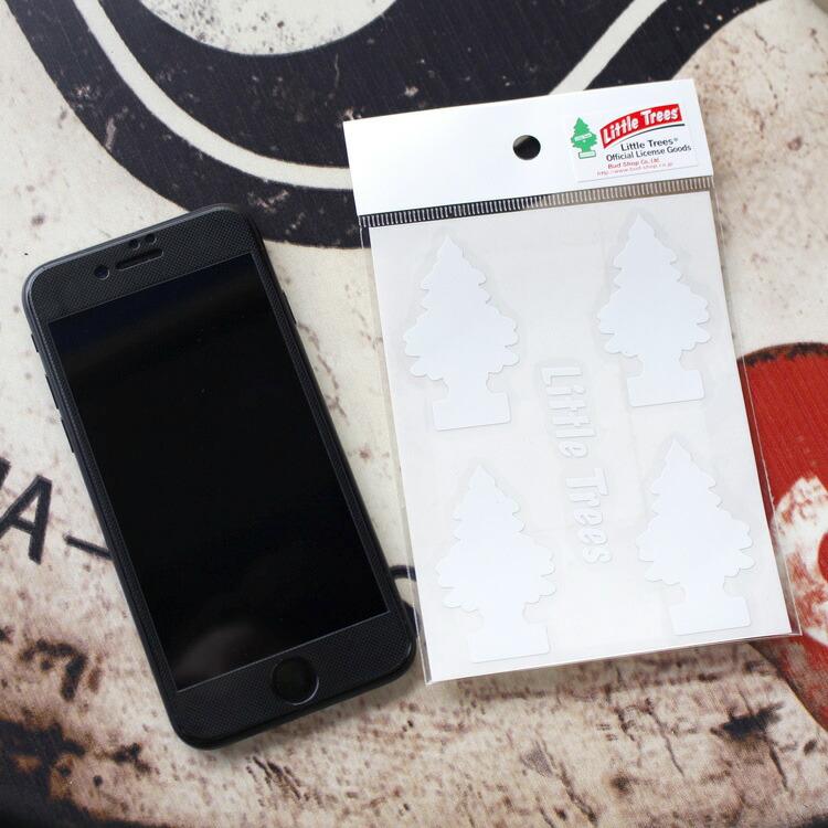 転写シール リトルツリー カットアウトステッカー SET-2 ホワイト Little Trees 蒔絵シール アメリカ雑貨 アメリカン雑貨
