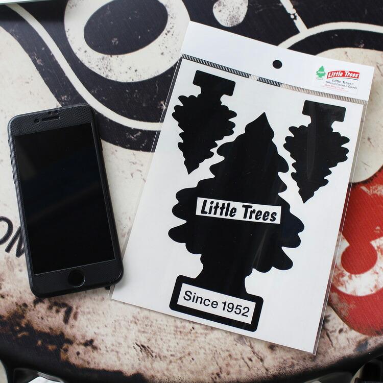 転写シール リトルツリー カットアウトステッカー SET-1 ブラック Little Trees 蒔絵シール アメリカ雑貨 アメリカン雑貨