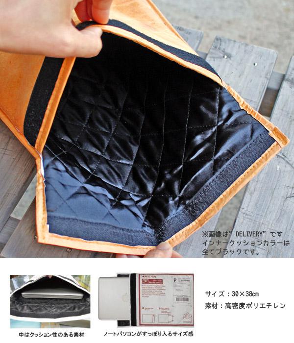 クラフト クラッチバッグ DELIVERY ノートPCバッグ タブレットケース タイベック風素材 アメリカ雑貨 アメリカン雑貨