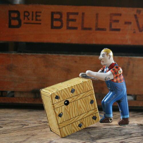 ブリキ おもちゃ ダルトン ティントイ WORKING MAN MS475 DULTON アメリカ雑貨 昭和レトロなおもちゃ