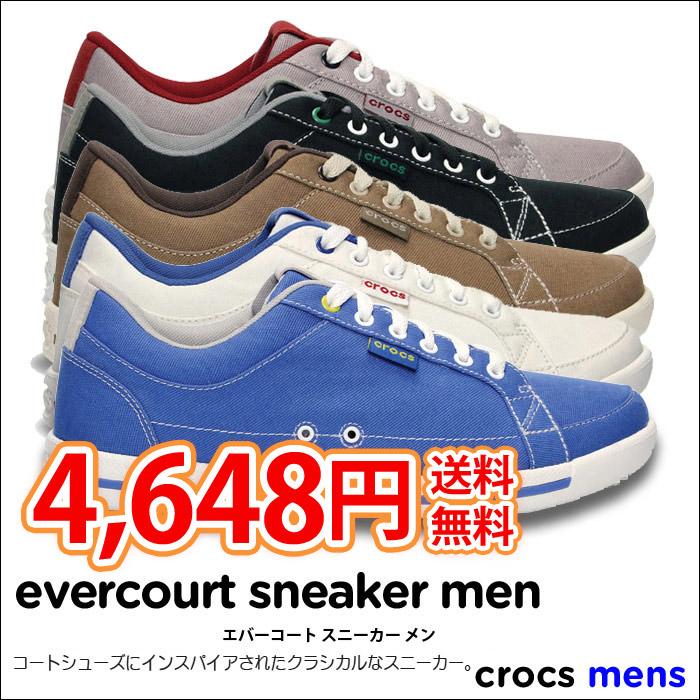 crocs【クロックス】 Evercourt Sneaker Men/エバーコート スニーカー メン