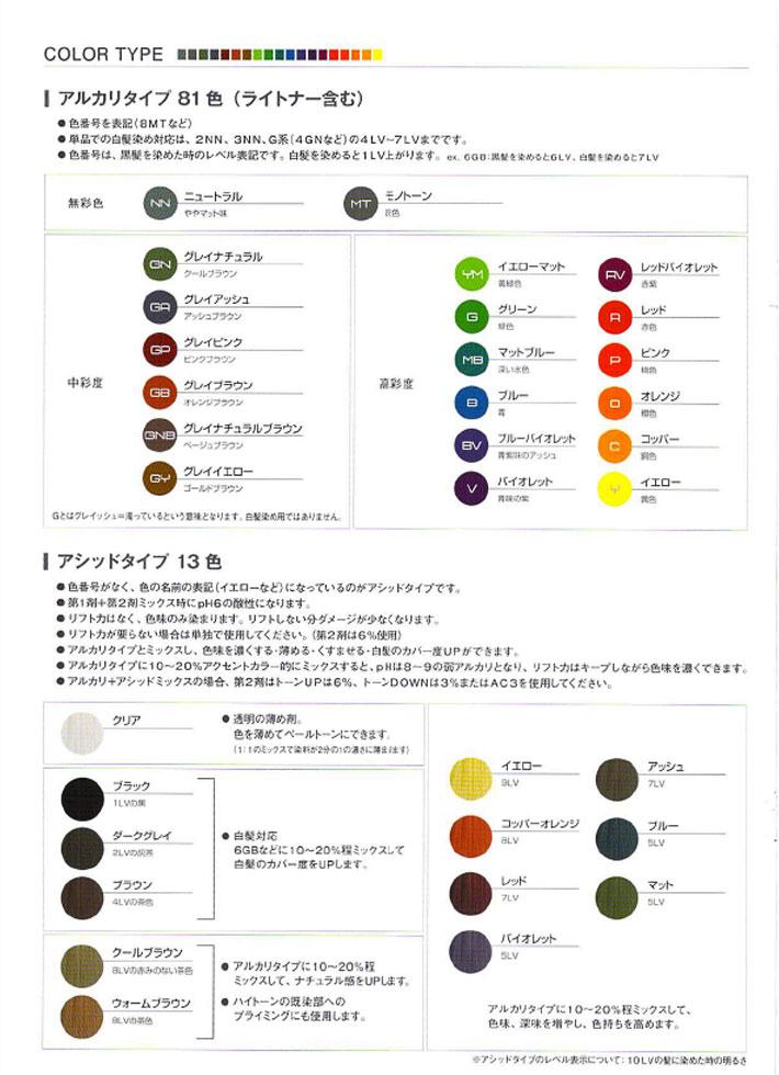 カラーチャート2