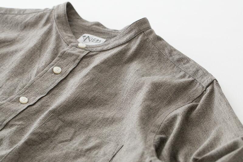 NEPS播州織シャツの見出し画像