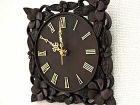 時計(プルメリア)