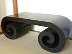 渦巻きテーブル