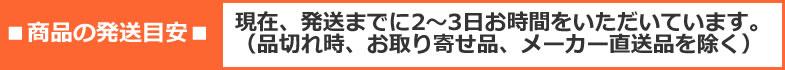 発送2〜3日