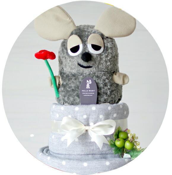 出産祝い おむつケーキ ダイパーケーキ