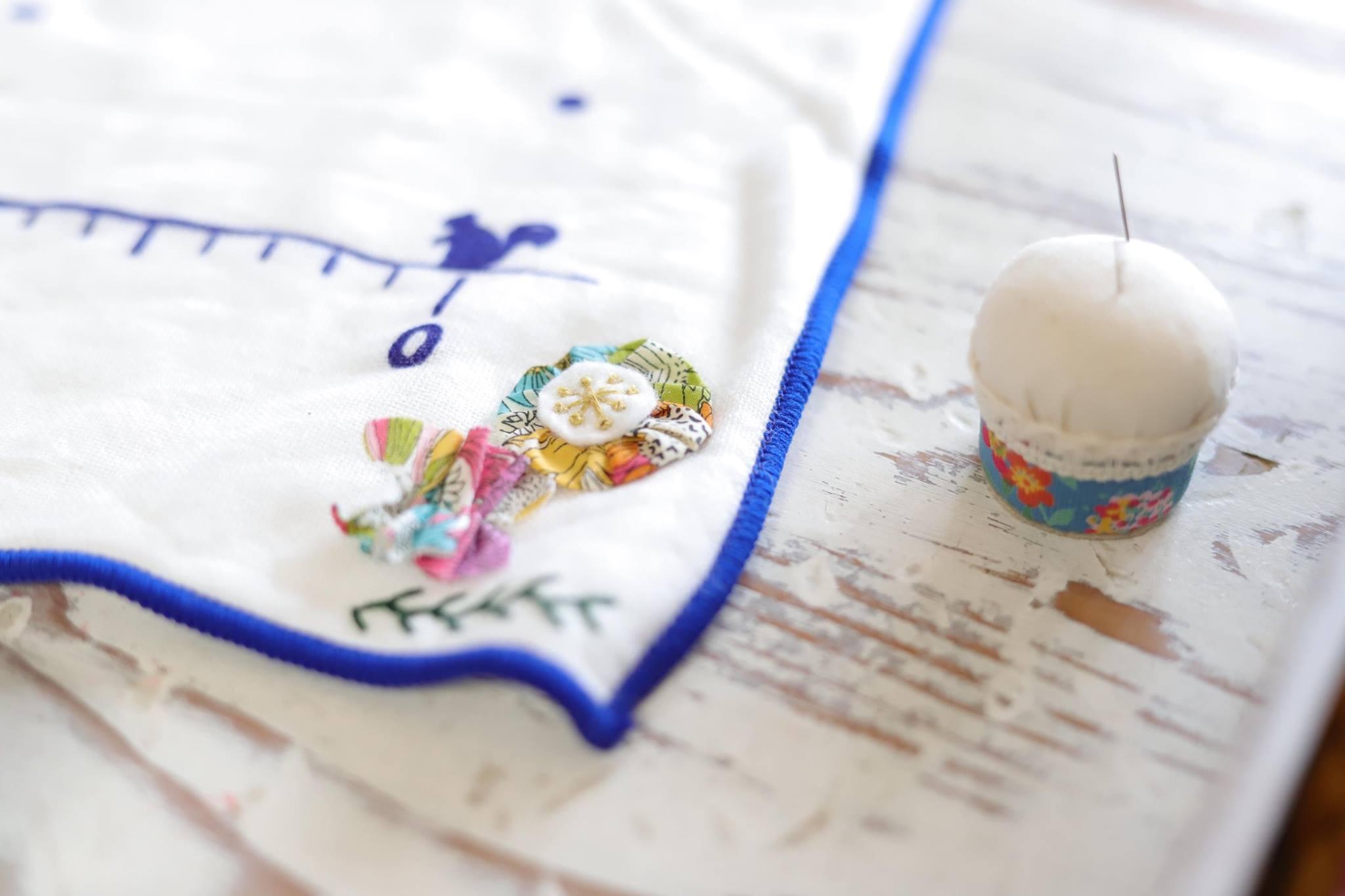 リカモさん刺繍