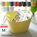 【2個以上ご購入で送料無料】balcolore バルコロール マルチバスケットM 19L