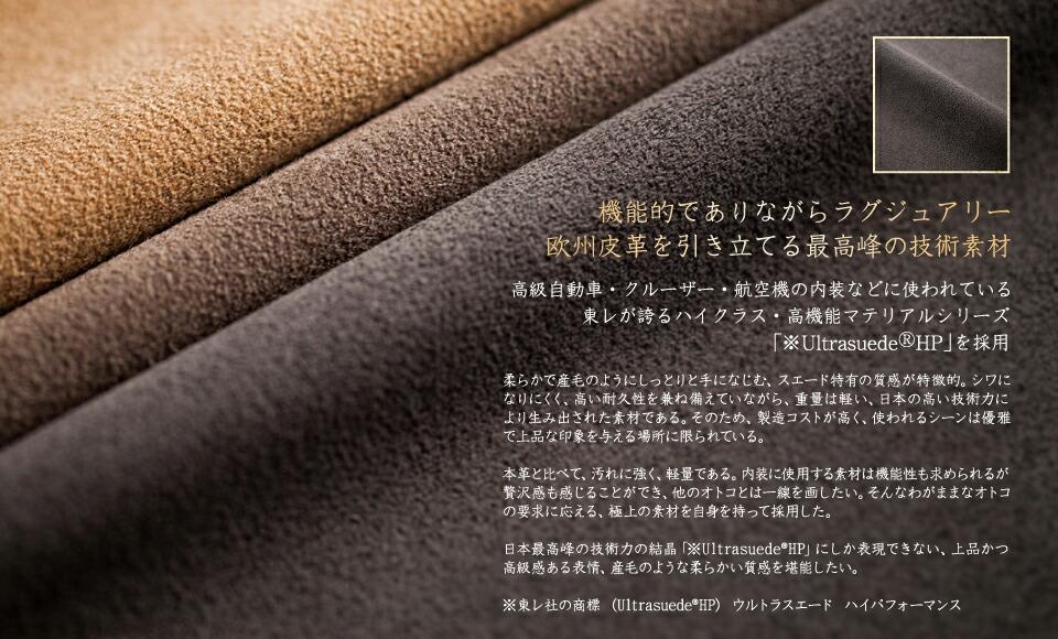 欧州皮革を引き立てる最高峰の技術素材