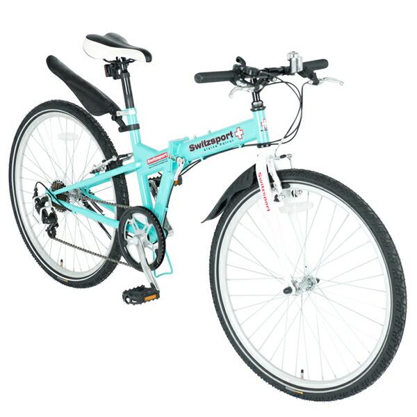 SwitzsportTech (スウィツスポート-テック):SIERRE-II〔シエルII〕クロスバイクタイプ26インチ折畳自転車 〔シマノ7段変速〕 MDL31014 【ポイント10倍】26インチ クロスバイクタイプ 7段変速フォールディングバイク