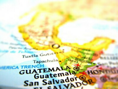 グァテマラ地図