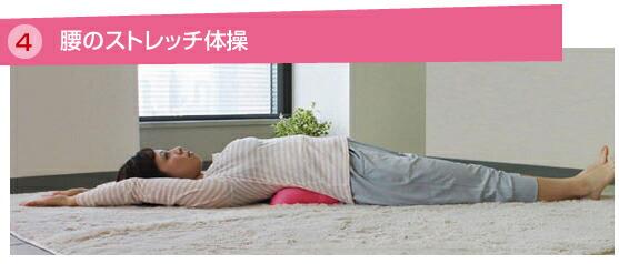 腰のストレッチ体操