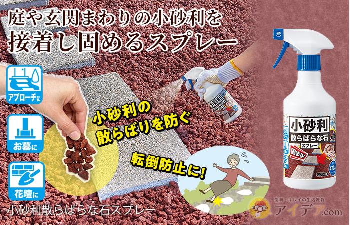 小砂利散らばらな石スプレー コジット
