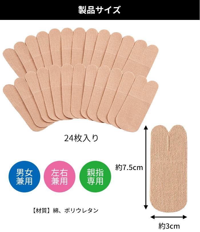 製品サイズ:3×7.5cm(1枚あたり)