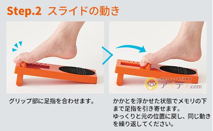 Step2.スライドの動き