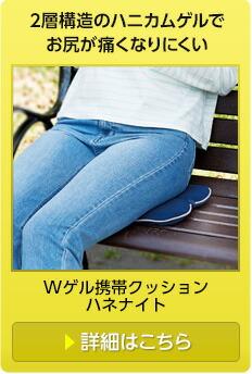 Wゲル携帯クッションハネナイト