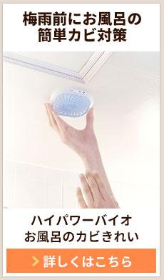 ハイパワーバイオ お風呂のカビきれい