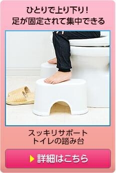 スッキリサポートトイレの踏み台