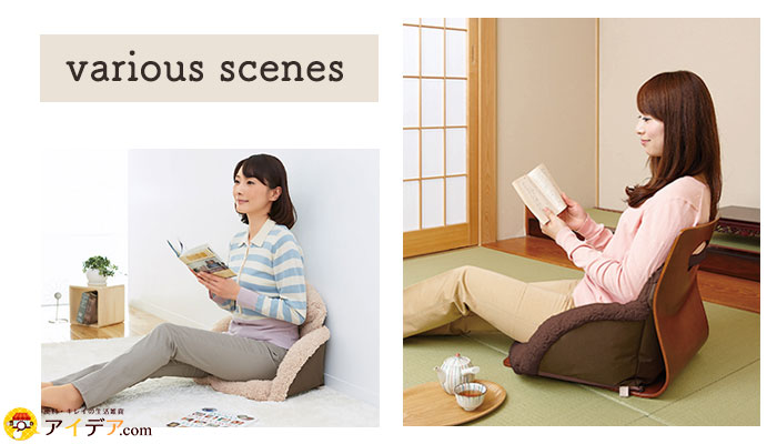 various scenes