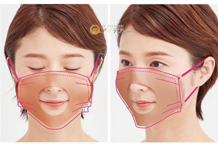 シルクインナーマスクパッド:イメージ