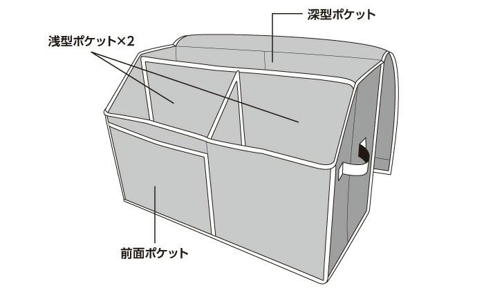 活性炭入り紙袋収納ボックス:サイズ