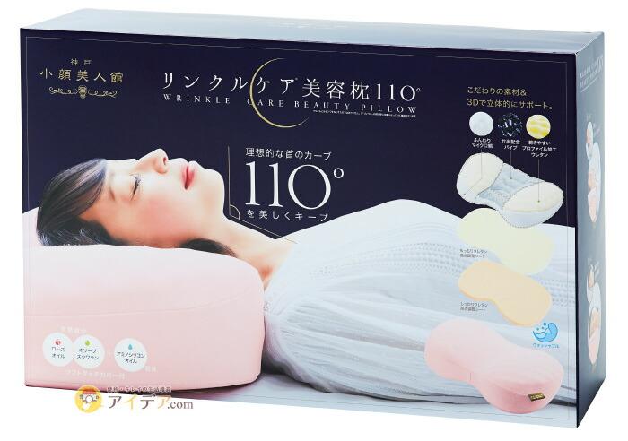 リンクルケア美容枕110:パッケージ