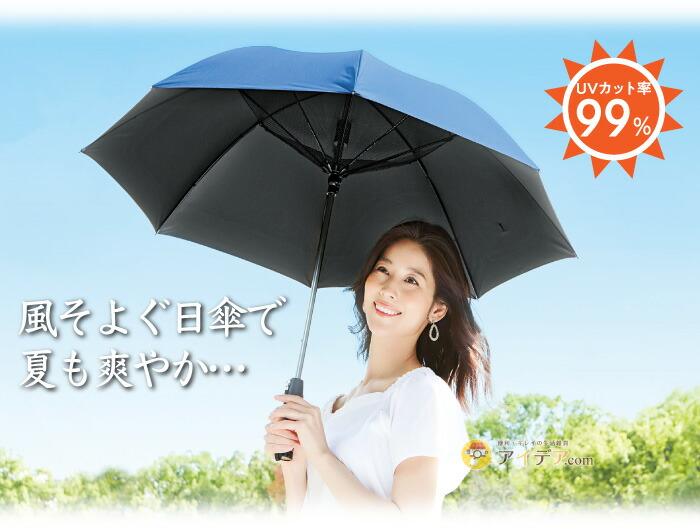 遮光1級扇風機日傘:イメージ