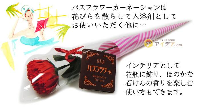 【母の日限定】名入れスリム軽量ウォーキングバッグone刺繍入り:バスフラワー