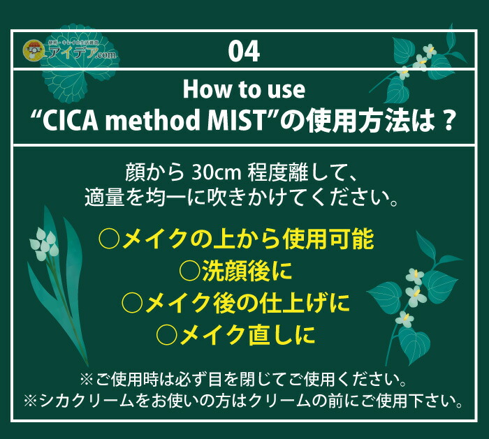 CICA method MIST:ご使用方法
