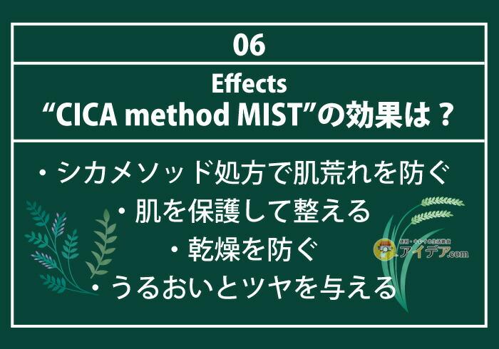 CICA method MIST:効果