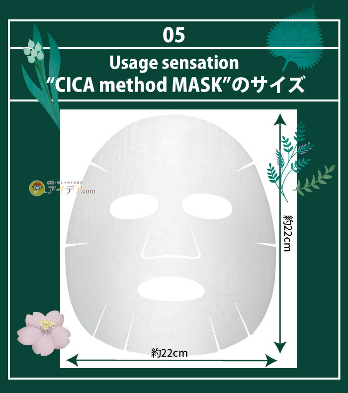 CICA method MASK:サイズ