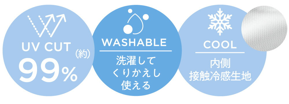 COOL PASTEL MASK:UV CUT(約)99% WASHABLE COOL