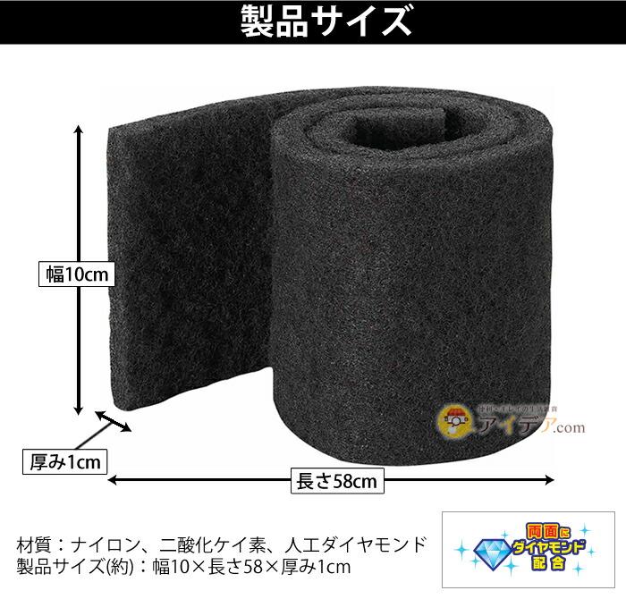 製品サイズ(約):幅10×長さ58×厚み1cm
